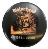Motorhead - 'Orgasmatron' Button Badge